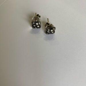 David Yurman quatrefol Earrings